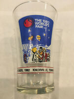 Vintage The 1982 Knoxville Worlds's Fair McDonalds Drinking Glass Coca-Cola Coke