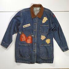 Haiks Woman's Fall Denim Jacket Size L