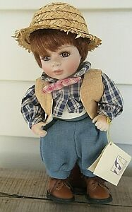 "VTG Adele's Puppenhaus 11"" Doll  ""Benjamin"" and Doll Stand EXCLUSIVE 815/1000"