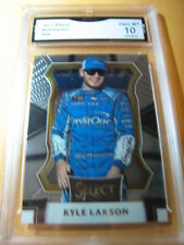 KYLE LARSON NASCAR 2017 SELECT # 96 GRADED 10  L@@@K