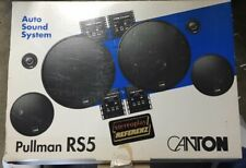 NEW Old School Canton Pullman RS5 3-way Component Speakers,Rare,Vintage,NOS,NIB