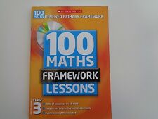 100 New Maths Framework Lessons for Year 3 by Ann Montague-Smith, Ann Morgan...