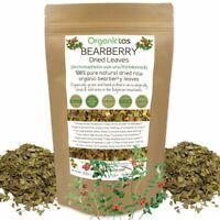 Organic BEARBERRY Leaf Herbal Tea (Arctostaphylos Uva Ursi) Urinary Tract Detox