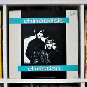 "China Crisis | Christian | 12"" Vinyl | Virgin | 600.815 | 1982 Holland"