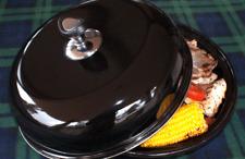 BBQ Food Warmer - Black