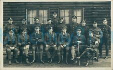 More details for ww1 army pay corps sergeant named on back rest mixed regiments photo