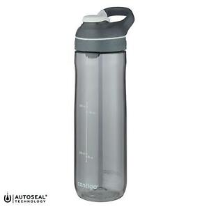 Contigo Cortland AutoSeal 720ml Water Sports Gym Bottle Spill-Proof - Smoke Grey