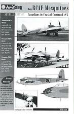 Aviaeology Decals 1/32 RCAF DE HAVILLAND MOSQUITO Canadians in Coastal Command