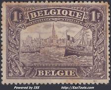 BELGIQUE N° 145 NEUF SANS GOMME A VOIR