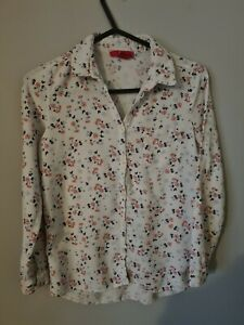 Girls flower  Shirt Age 10-11