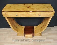 Art deco table blonde doucine en noyer tables interiors