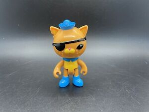 "Disney Jr. The Octonauts Cat Kwazii Toy Figure Mattel 3"" Sailor"