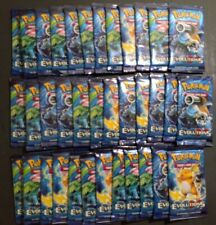 36x(Same as Booster Box) XY Evolutions Booster packs Pokemon-Unweighted SEALED