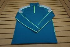 NEW Under Armour Golf Pullover Mens Size Large Blue 85b Outerwear Clothing