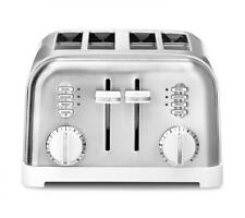 Cuisinart 4 Slice White and Stainless Classic Toaster