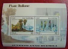 2000 Italia Dittico Avvento Natura e Città  2 x 800 lire MNh**