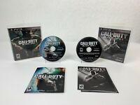 Call Of Duty Black Ops 1 Black Ops 2 Playstation 3 PS3 Bundle Tested Complete