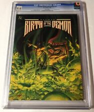 Birth Of The Demon Batman Cgc 9.4 White Pages Graphic Novel 1st Print