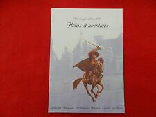 collection historique timbre poste héros d'aventures personnages célèbres 1997