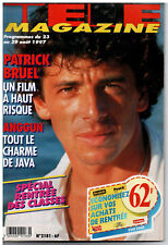 ▬►Télé Magazine 2181 (1997) PATRICK BRUEL_ANGGUN_JANE FOSTIN_CHRISTOPHE LAMBERT
