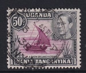 2043 KUT SG144a 50c Purple & Black. 1938. Rope not Joined. Fine used with CDS