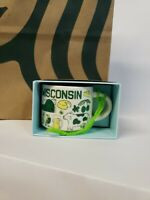 STARBUCKS WISCONSIN (WI) BEEN THERE MINI MUG ORNAMENT NEW IN BOX! Sold out!!