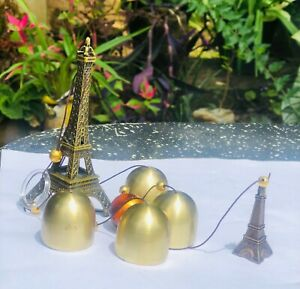 Wind Chime with Eiffel Tower Decoration Blessing