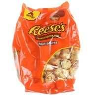 Reese's Classic Milk Chocolate Peanut Butter Cups Miniatures 1.58kg Sweets Party