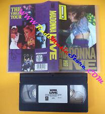 VHS MADONNA Live The virgin tour 1985 WARNER 7599 38105-3 (VM4) no mc dvd lp