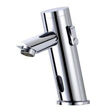Chrome Automatic Sensor Tap Hands Free Auto Home Bathroom Kitchen Basin Sink
