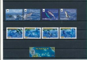 D193764 Penrhyn Nice selection of MNH stamps