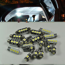 For Volvo S40 08-16 Error Free 16 Lights SMD LED Interior reverse plate Package