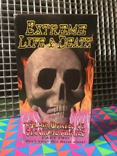 EXTREME LIFE & DEATH Part 2-VHS•DMP Entertainment•Shockumentary•Faces Of D•Mondo
