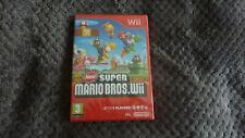 New Super Mario Bros. Nintendo Wii, pal version  ( New & sealed )