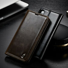 Original PU Leather Card Holder Flip Case Cover For Various Phone
