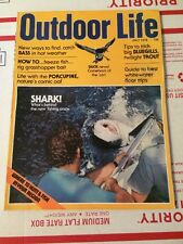 OUTDOOR LIFE HUNTING & FISHING MAGAZINE SHARKS JULY 1976