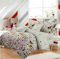 Luxury Harlequin Floral Duvet Cover Quilt Bedding Set Single Double King Sizes