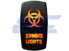 UTV Rocker Switch Orange Led On Off Zombie Light Toggle 2017 Square 5 Dune Sand