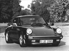 PHOTO PRESS ORIGINALE PORSCHE 911 CARRERA COUPE' - 1986