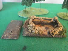 Painted Resin 20mm Observation Position, suitable for WW2 wargames