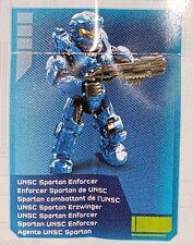 Halo Mega Bloks Alpha Series 1 UNSC Spartan Enforcer Common