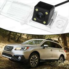 4 LED CCD Rearview Camera Reverse Parking Backup for Subaru Outback 2015-2016