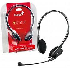 Genius HS-200C Lightweight Headset With Boom Microphone  For Pc & Laptops