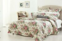 Gainsborough Rosewood Floral Quilt Cover