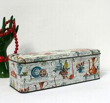Boîte à biscuits longue 1950