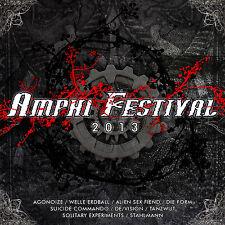 Amphi Festival 2013 Compilation - CD Agonoize, Suicide Commando