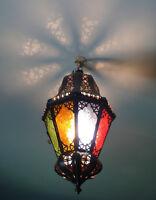Lustre Marocain fert forgé lampe  e lanterne plafonnier applique luminaire orien