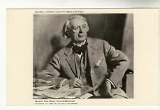 Lloyd George - Photo Postcard From a Painting  c1940s