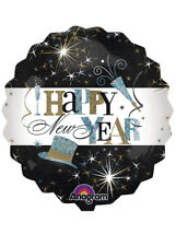Elegant Happy New Year Jumbo Helium Balloon