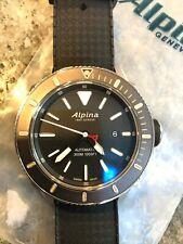NEW Alpina Seastrong Diver 300 Swiss Automatic Bracelet Watch AL-525LBG4V6B